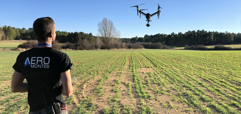 aerial inspection with drones