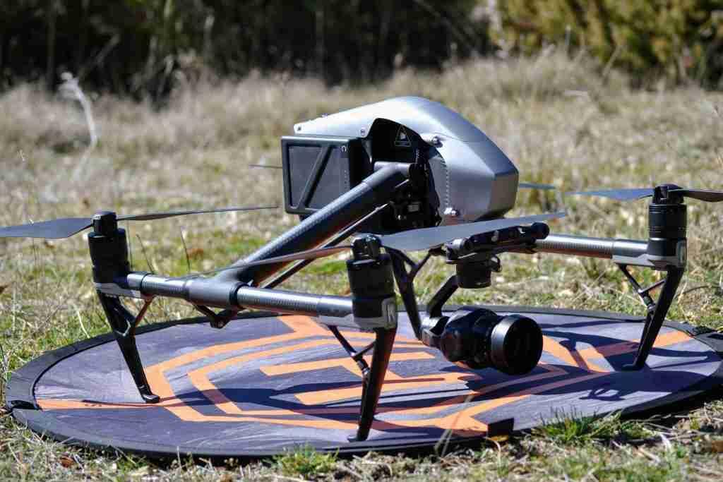camera cinema drone - aeromontes