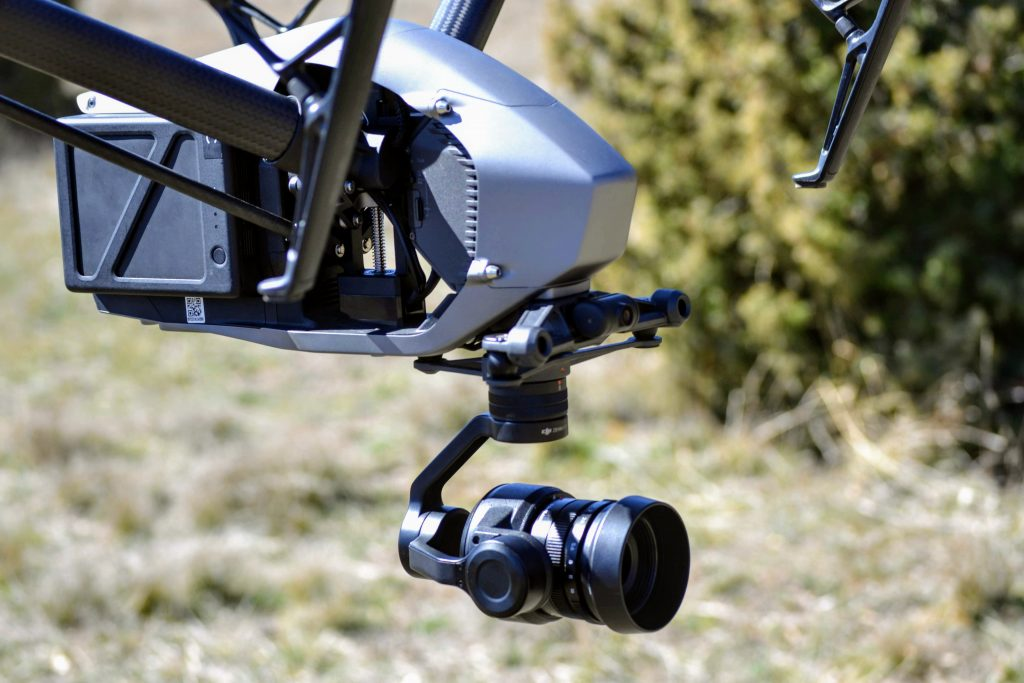 Drone with high resolution camera - Spain